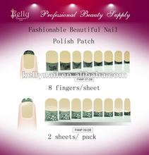 Fashionable French Nail Polish Patch Nail Foil Nail Sticker