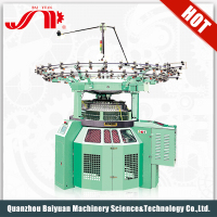 Baiyuan Healthy Double Jersey Computer Controlled Electronic Jacquard Loom Digital Weaving Circular Knitting Machine