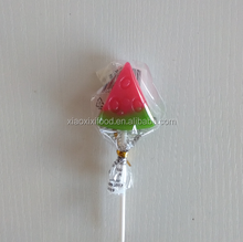 craft lollipop halal candy with watermelon shape