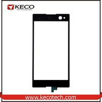 China Wholesale Mobile Phone Original New Replacment Parts Black Touch Screen Glass For Sony Xperia M C1904 C1905 C2004 C2005