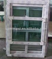single and double side hung window, pull up window