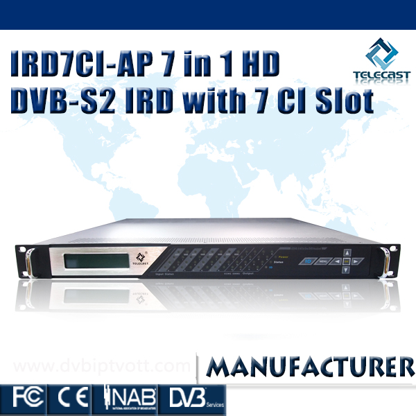 Best sale IRD7CI-AP Digital Head-end Satellite Receiver