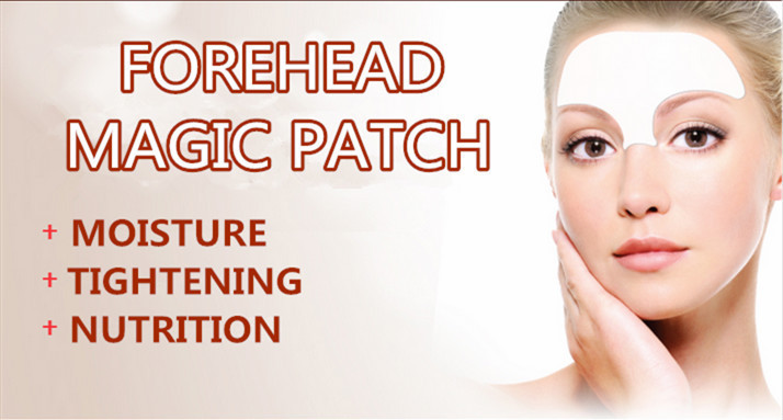HODAF New arrival beauty care anti aging forehead hydrogel patch