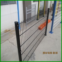 Strengest double horizontal wire super strong fence panel