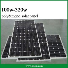 Anern new product Monocrystalline 250w solar panels with built in inverters