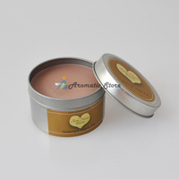 Apple Pie Soy Wax Travel Candle