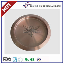 Stainless Steel coppper Bar Serving Tray