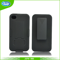 Top selling product all in one pc holster combo case for iPhone 4
