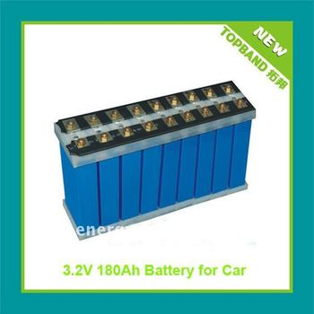 Electric vehicle lithium rechargeable battery 3.2V 180Ah TB-32180