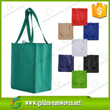 Wholesale promotional cheap custom foldable recycle non woven bag, waterproof nonwoven/non woven promotional bag