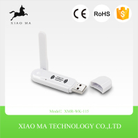 Wholesale IEEE802.11N 150M Ralink 3070 Wireless USB WiFi Direct Dongle Adapter With External Antenna XMR-WK-115