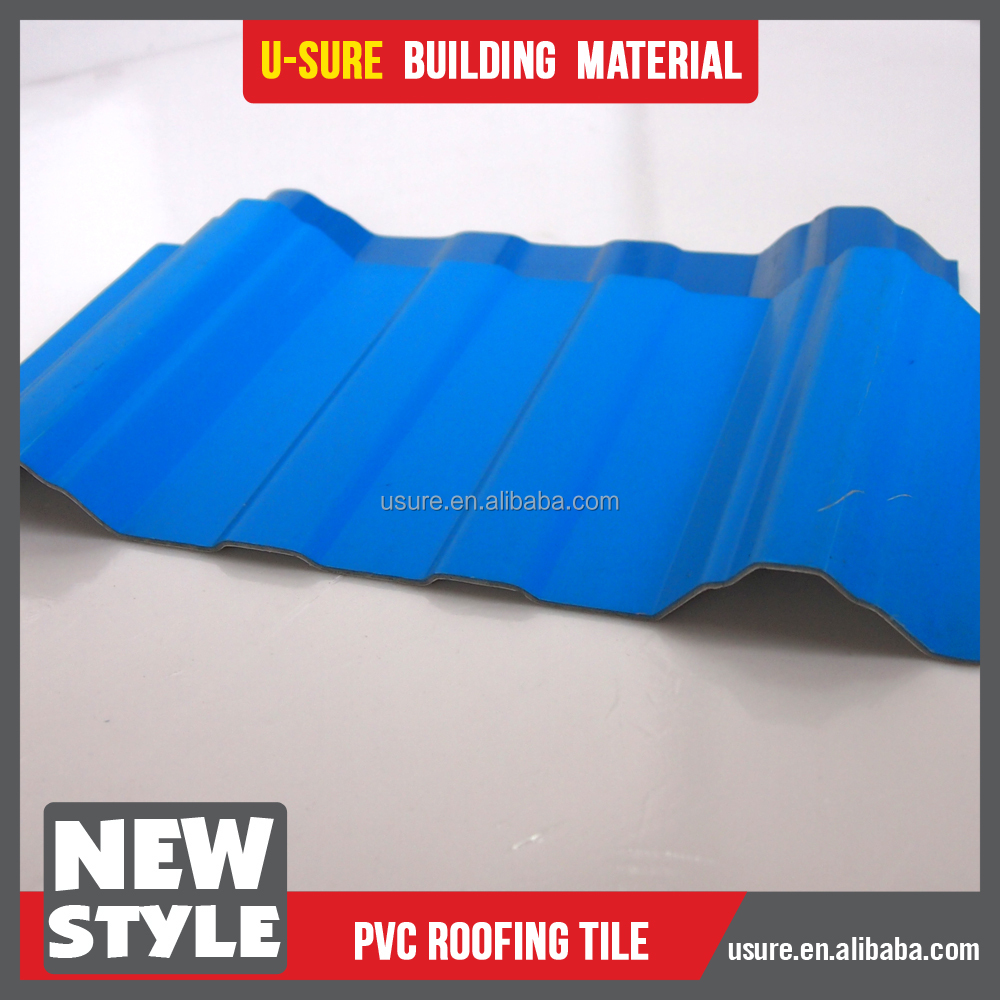 roofing felt green / china supplier roofing sheet / mobile home roofing sheet corrugated pvc