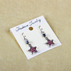 Beautiful Plastic Jewelry Accessory Earring Display Card