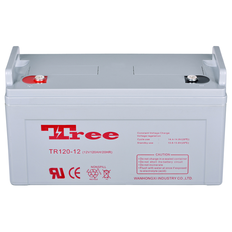Free maintenance rechargeable storage battery 12v 120ah deep cycle battery