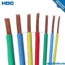 UL 83 THW 8AWG PVC insulation stranded copper conductor 75 degree CABLE