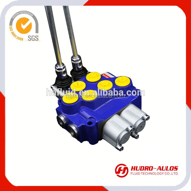 4735R factory price excavator hydraulic 12v solenoid valve / DCV40 -2OT valves suppliers in China