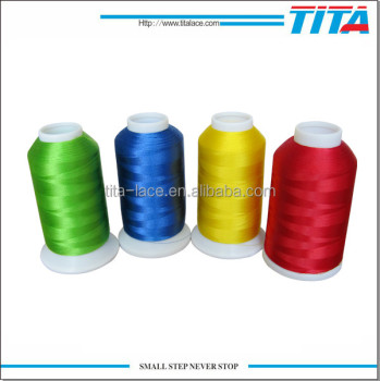 Fdy filament twist 120D/2 100% polyester embroidery threads