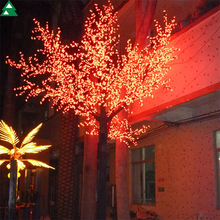 Hot sales outdoor artificial lighted cherry blossom tree