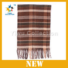50pc MOQ Factory selling hundreds Styles white striped pattern black pashmina winter scarf for fashion men