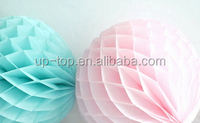 Quality durable competitive price tissue paper honeycomb ball paper