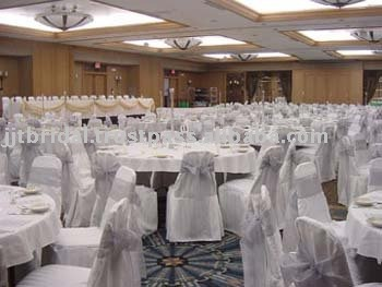 SH021 Wedding chair sashes, Banquet chair sashes, Organza chair Ribbon