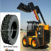 skid steer tires with wheel 10-16.5 rim 8.25X16.5 china brand tyre