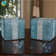 bling glass wedding centerpieces