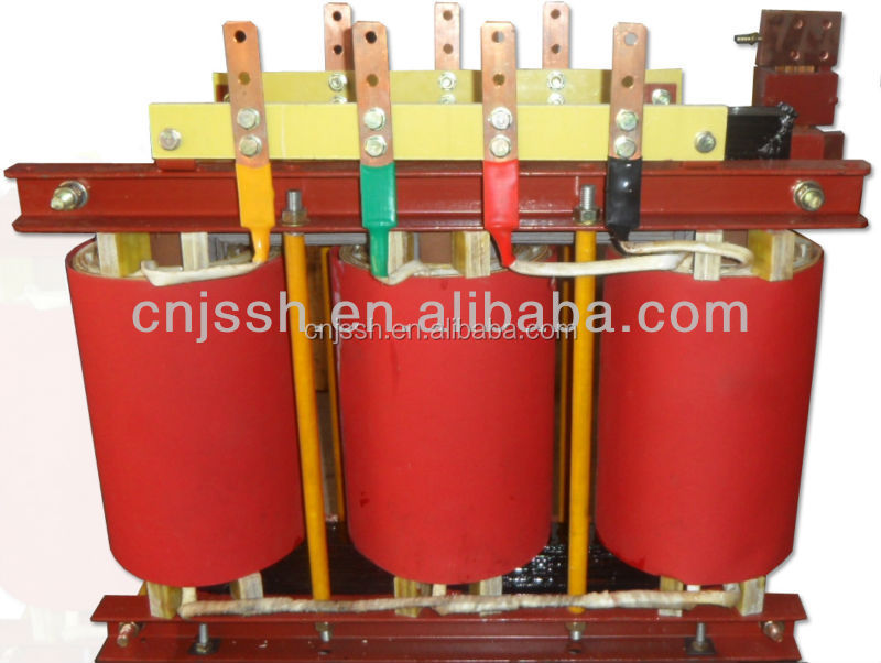 Low Voltage Copper Coil Iron Core Dry Type Isolation Transformer 50HZ / 60HZ