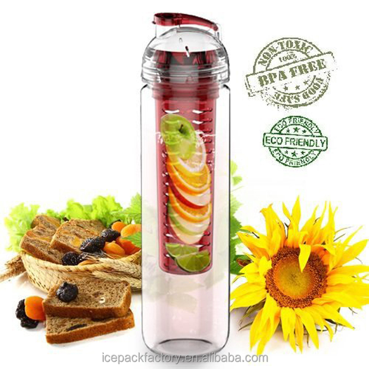 healthy lifestyle 2016 best-seller product water bottle with built in fruit infuser