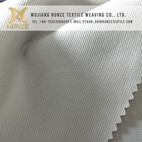 Professional factory price supply 100% polyester fabric twill gabardine for pants,work colth