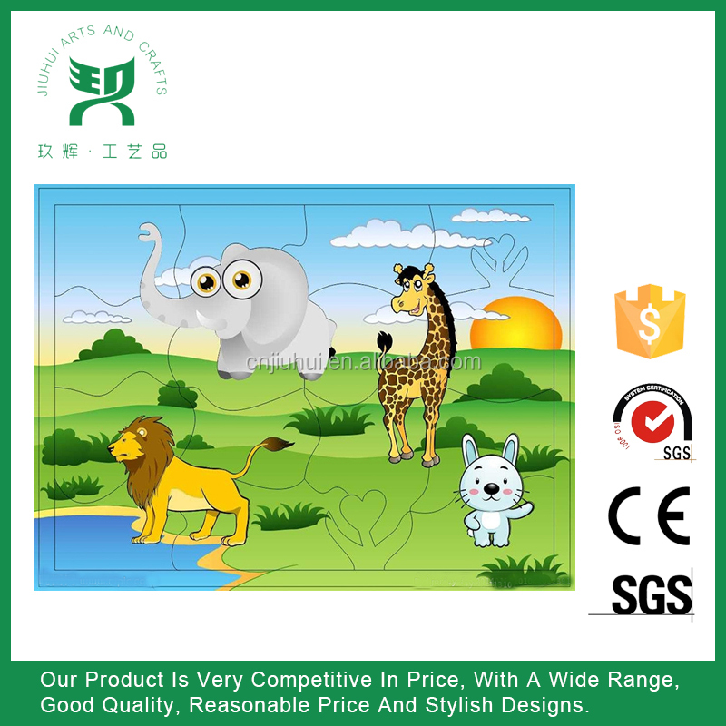 Factory OEM promotional Custom Paper Jigsaw Puzzle