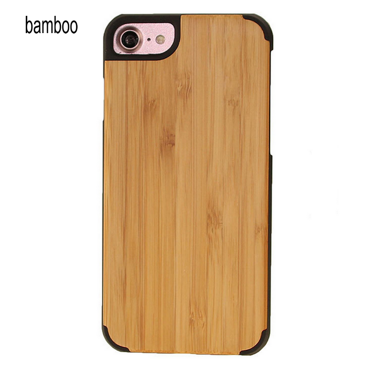 Real Wood Factory Eco Friendly Personalized Wooden Cell Phone Case For Huawei P10 , Wooden Case Bamboo