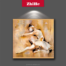 wholesale hot canvas wall painting art nude woman body picture for home decor