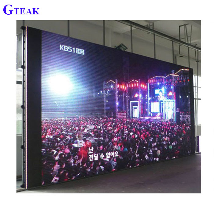 Full color rental led display p6 indoor