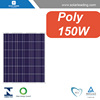 IEC certificated 150w solar panel polycrystalline module with solar cells wholesale for Panama market