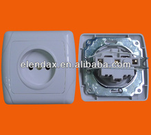 European style flush mounting wall socket outlet (F3009)