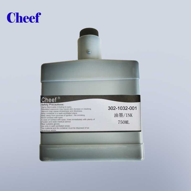 Printing ink 302-1032-001 for cij Citronix inkjet coding printer
