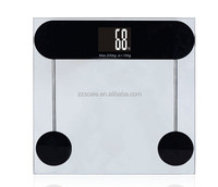Promotion electronic personal LCD screen human health weigh scale