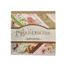 40 Sheets Multi-Colored Designer Paper Decorative Craft Paper for Creative Scrapbooking and <strong>Cards</strong>