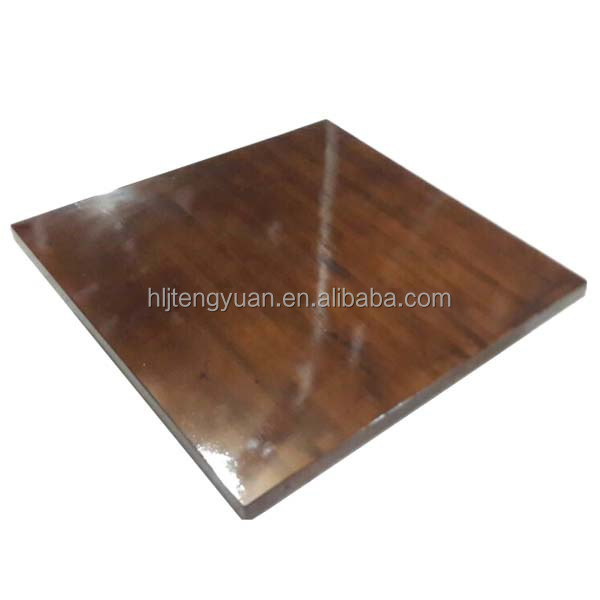 Natural American Style Square Dining Wood Table Top