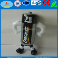 Advertising PVC Inflatable Battery Man