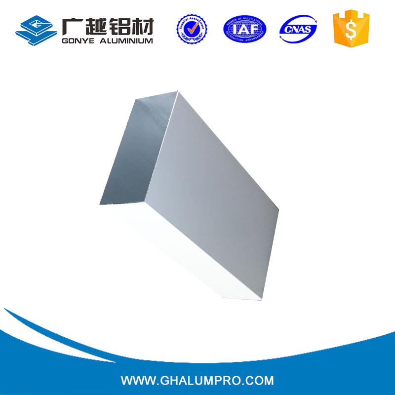 profile aluminium square tube 200x200 mm aluminium