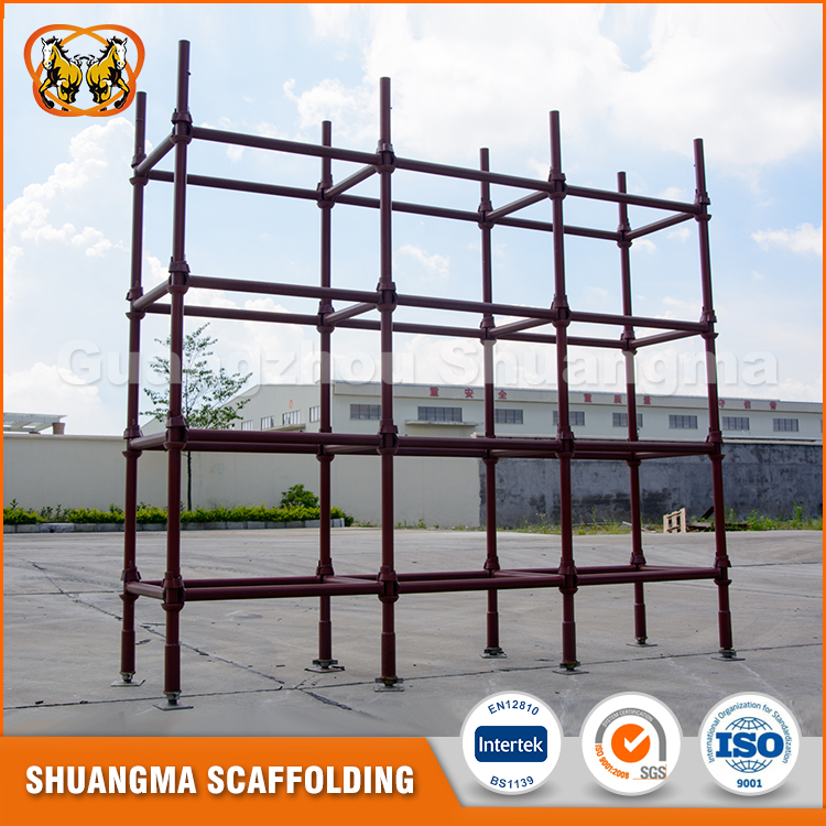 Stable pin lock cuplock scaffolding factory