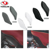 Hot sale ABS side wind shield for harley davidson motorcycle air deflector