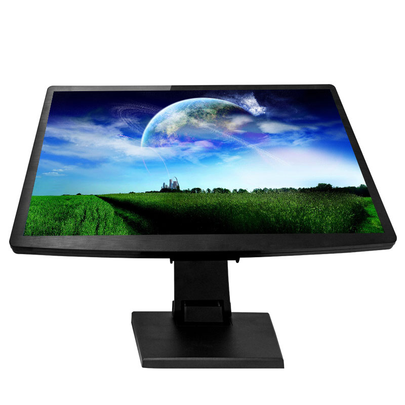 VGA RS232 Port 22 inch lcd touch screen monitor with dc 12v input