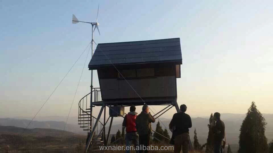 600w home use wind turbine with controller /inverter for sale