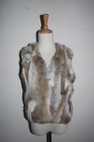 Mexico New Style Fashion Color Rabbit Fur Vest/Natural color short rabbit waistcoat/vest