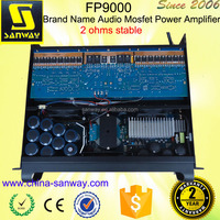 FP9000 4CH Brand Name Audio Mosfet Power Amplifier