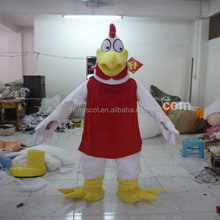 Customized funny adult foghorn leghorn mascot costume