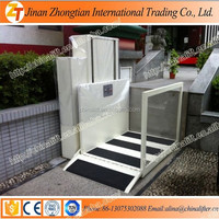 Outdoor used hydraulic vertical small home elevator for disabled with no rust
